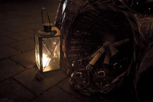 Candlelight and wine by theDevil-photography