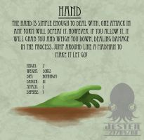 KCB - Hand by deathjester