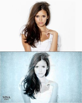 conversion nina dobrev by SerikLY