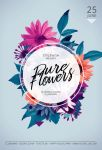 Pure Flowers Flyer by styleWish