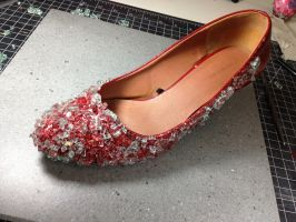 Ruby's Slippers - WIP by Mark-D-Powers