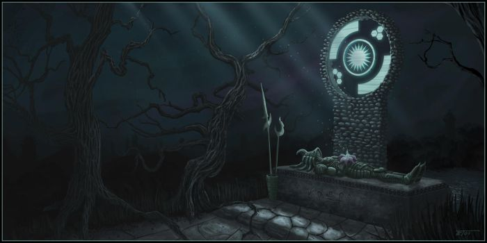 Death Shrine by EricT