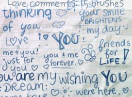 Love Comments Brushes by ibeliever
