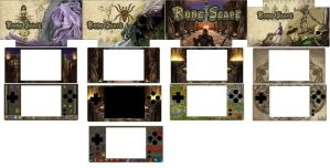RuneScape DS Cases by MsGhia