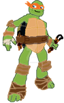 Mikey(Drawn By Me) by MLPfimAndTMNTfan