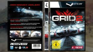 Game Cover Episode 3: Racedriver GRID 2 by alexsvisuals