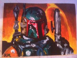 Boba Fett ACEO by Classikelly
