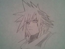 CLOUD STRIFE by vincentcore7