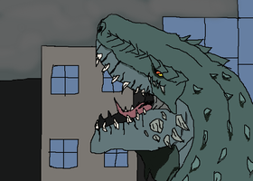 Zilla The Rival King of Monster's by TheSpiderAdventurer