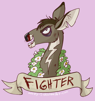 FIGHTER by Wolfy-T