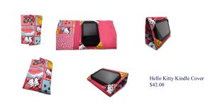 Hello Kitty Kindle Cover by The2SistersShoppe