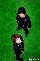 Suzaku and Lelouch by vivis by manolo-kun