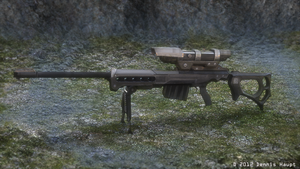 Sniper rifle KSR-29 Blender_Cycles_Render by DennisH2010