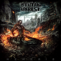 BRUTAL UNREST-NEMESIS CD COVER by mlappas