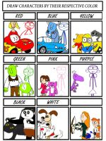 Color meme by thearist2013
