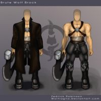 Brute Wolf Character Concept by Wolfragna