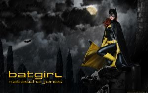 Barbara Gordon - Batgirl Wallpaper by Knightess-Rouge