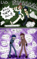 .:L4D X TF2:. Playing L4D 2 ~VS~ Playing TF2 by SilverfanNumberONE