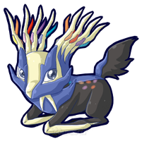 Day 6 : Xerneas by SolarGem