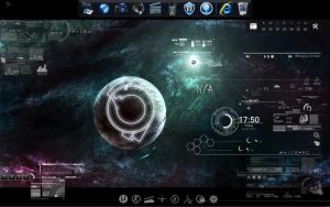rainmeter by farisinsua