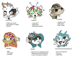 Tag Yourself (Bean edition) by ThinkingBean