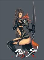 Blade and Soul Assassin by 7Zaki