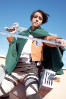 Shingeki no Kyojin - Levi cosplay 01 by Lehanan