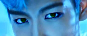 T.O.P eyes from BIGBANG by NuTz123