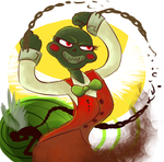 Blood Swap Calliope by Tigerman-exe