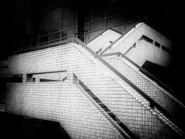 City Stairs 2 by Bazz-photography