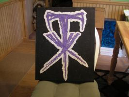 Undertaker Symbol Painting by undertaker1962