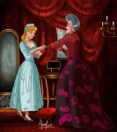 CINDERELLA AND THE STEPMOTHER by FERNL