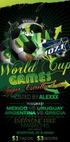 World Cup Games by angelsmayhem