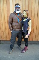 Star Lord and Gamora Cosplay (2) by masimage