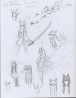Inari Faux concept sketches 1 by snowcloud8