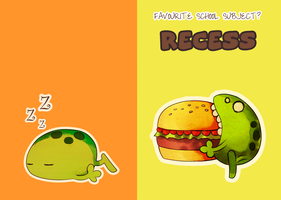 Recess for the shiz :: Notebook Cover by cocoasaurus