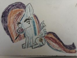 Plane sketches: Dolly Flash by cottoncloudyfilly