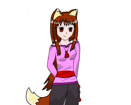 Spice and Wolf Holo Fanart 2 by Kat515
