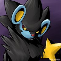 happy Luxray by Ununununium