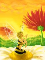 Bee Fairy by ShadesOfDreams