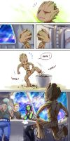 Gotg-I Am Groot by GarnetQuyenDinh