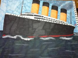 The RMS Titanic by HinataElyonToph