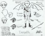 Deneth (TV show style) by RoseInArtic