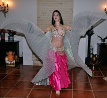 Wings Belly Dance 06 Stock by LoryenZeytin