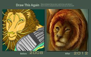 Lion by africanstinger