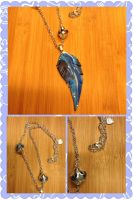 Polymer clay feather by sandy2101