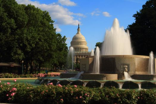 Stock: Capitol Fountain 2 by Celem