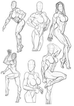 Rob Sketchbook Figure Practice by Bambs79