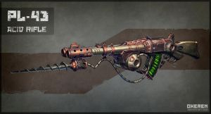 Acid Rifle by Oxeren