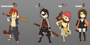 RPG MAKER XV characters by FF69